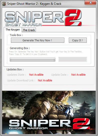 sniper ghost warrior 2 keygen free download