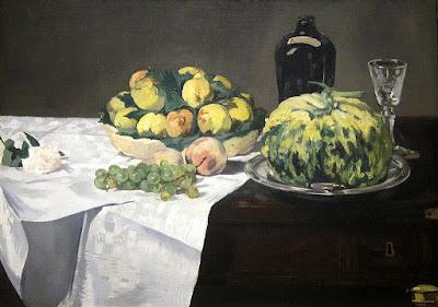 Edouard Manet - melon et pêches