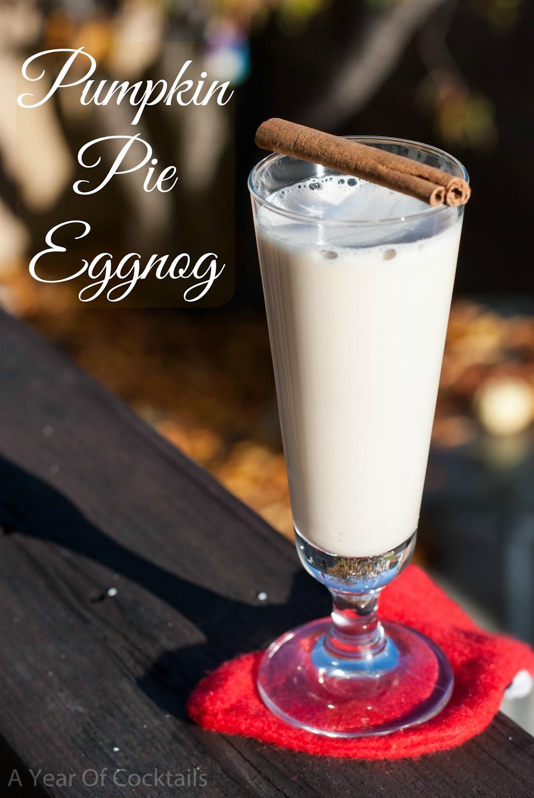 ... , pumpkin pie vodka, pumpkin pie liqueur, eggnog, christmas cocktail