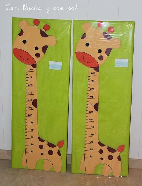 Con lluvia y con sol medidores infantiles reg lalos en - Medidor de habitaciones ...