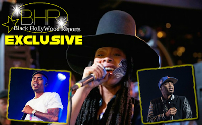 "Rappers Nas And Eryka Badu Are Coming Together For New Movie ""The Land"" !!!"