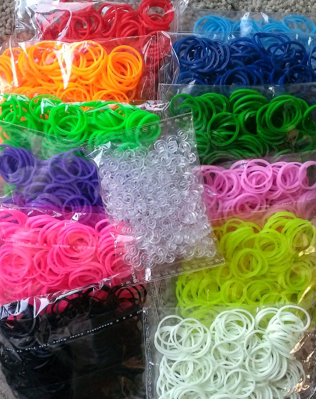 Laurel likes it rainbow loom rubber band refill