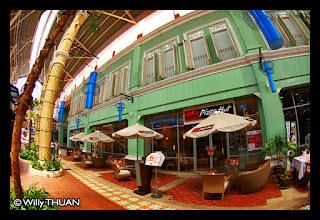 Sino Portuguese shops at JungCeylon Phuket