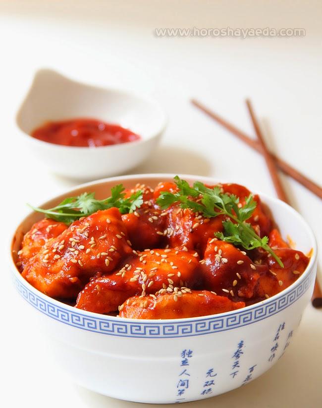 Курица Хунан  湖南雞