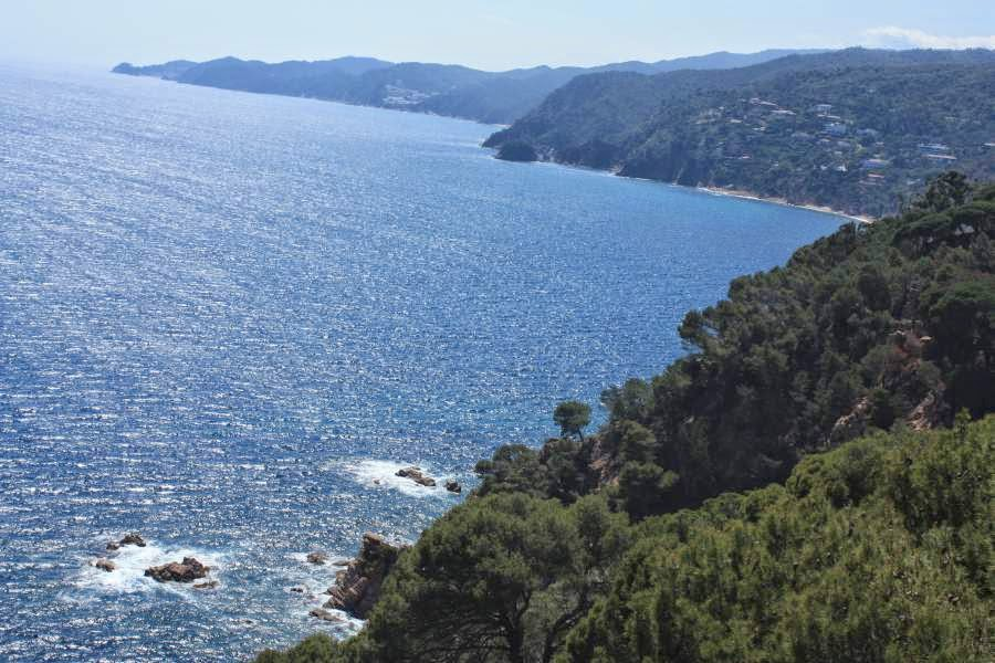 Costa Brava from Sant Feliu de Guixols