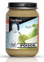 satire: gerber recalls 60,000 jars of baby poison