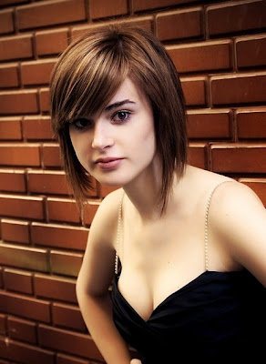 Layered Bob Short Hairstyles 2013 With Bang