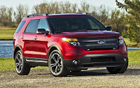 Ford Explorer Sport (2013) Front Side 2