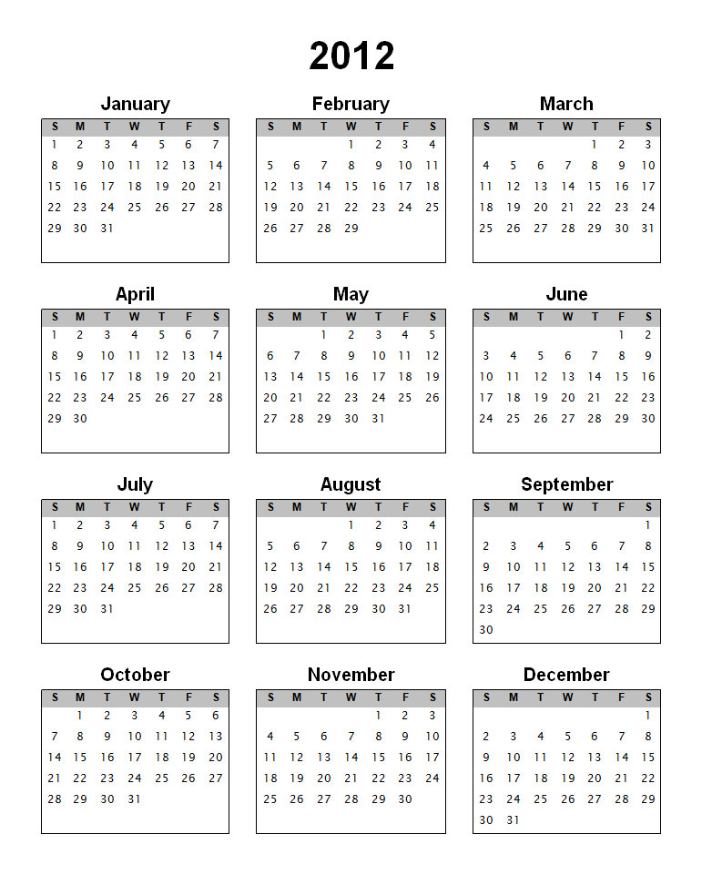 download a calander