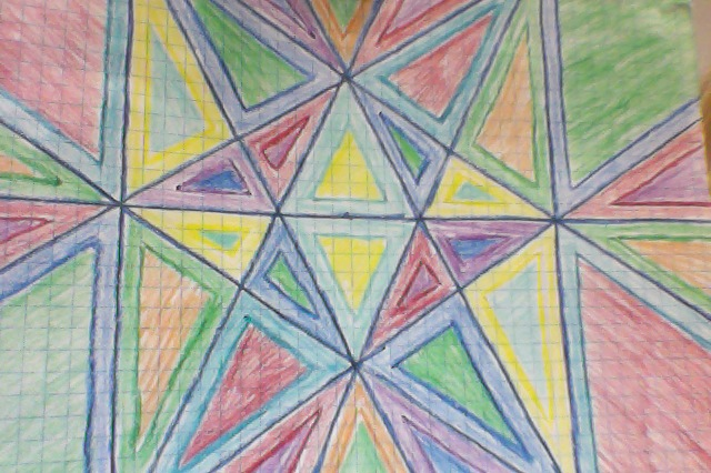 A Math Teacher's Life: Stained Glass Window Project