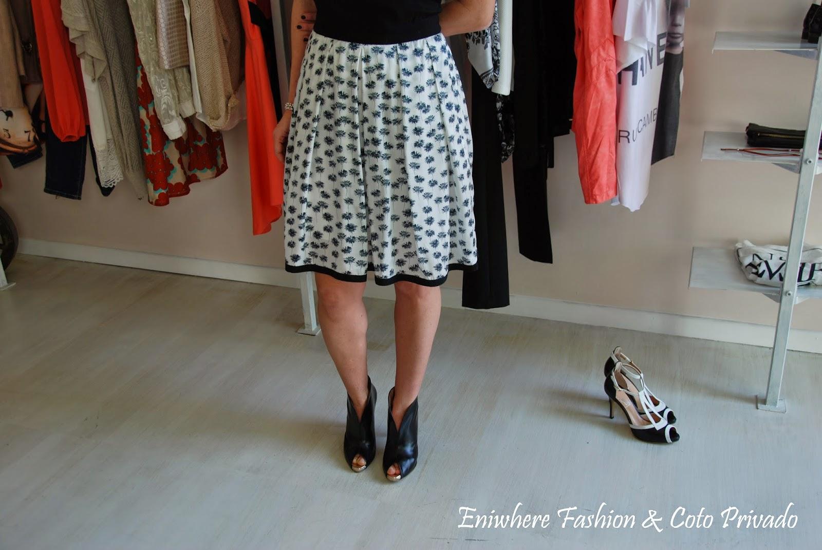 Eniwhere Fashion - Coto Privado - abito bianco e nero