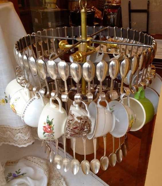 How to recycle creative recycled chandeliers - Creative lighting ideas ...