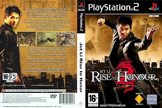 CAPA PLAYSTATION 2 - Jet Li - Rise To Honour