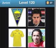 solution football quiz niveau 120