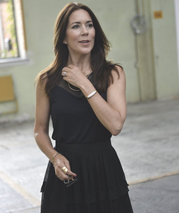 Princess Mary Attended The Kopenhagen Fashion Week
