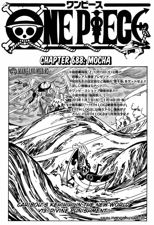 03 One Piece 688   Mocha