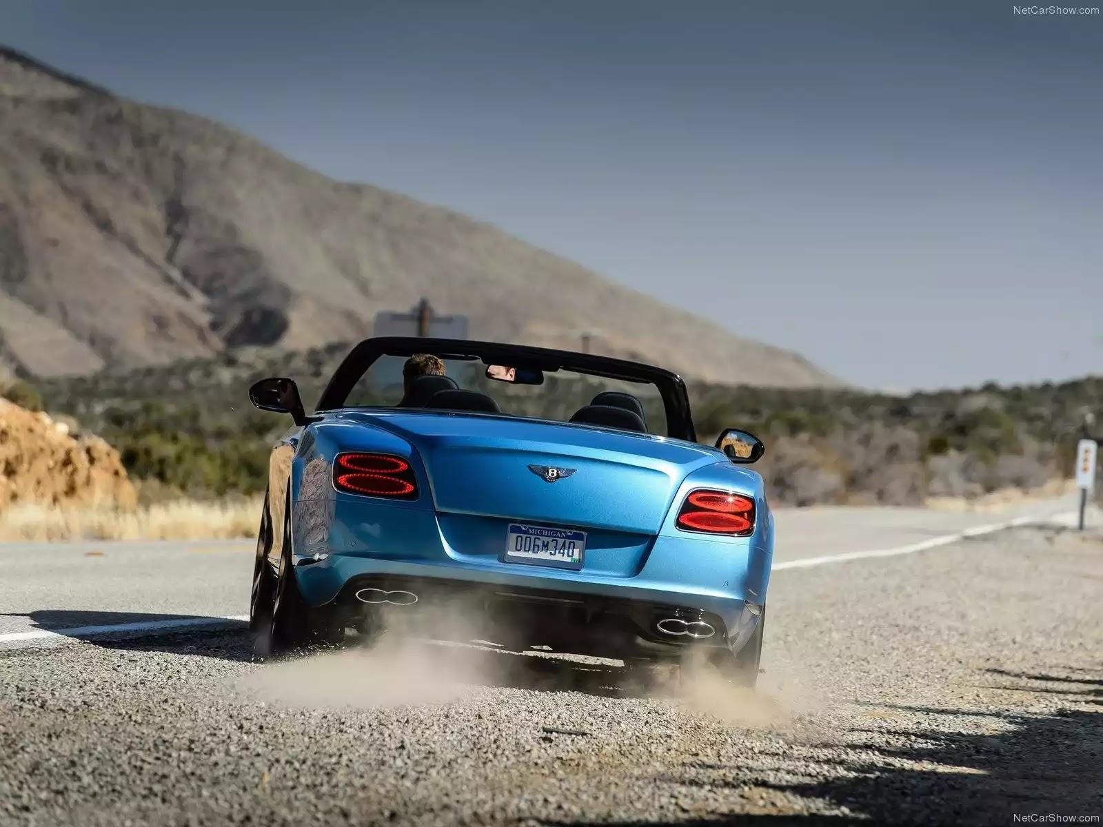Hình ảnh xe ô tô Bentley Continental GT V8 S Convertible 2014 & nội ngoại thất
