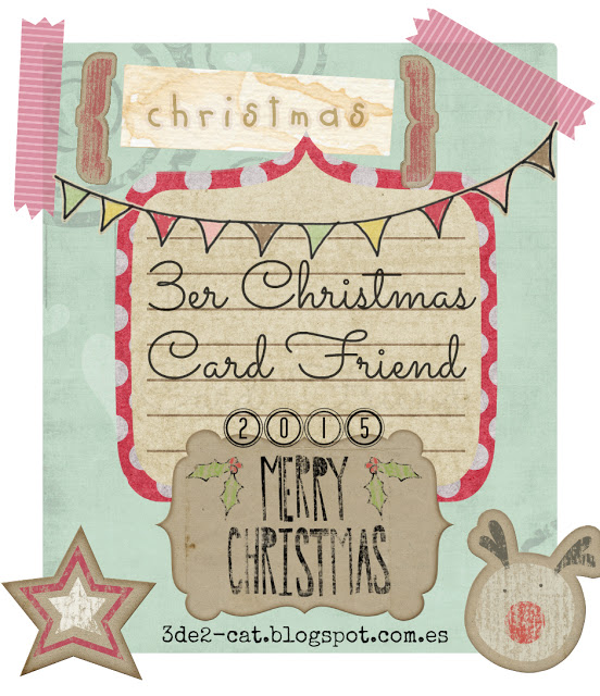 3er Chrismas Card Friend