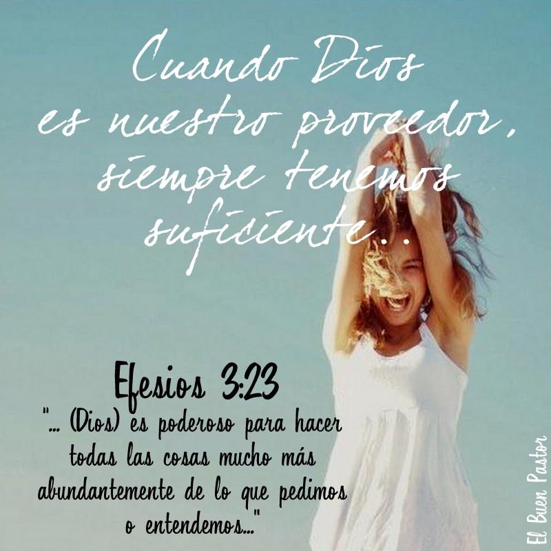 Populares YO SOY EL BUEN PASTOR: Efesios 3:23 EE92