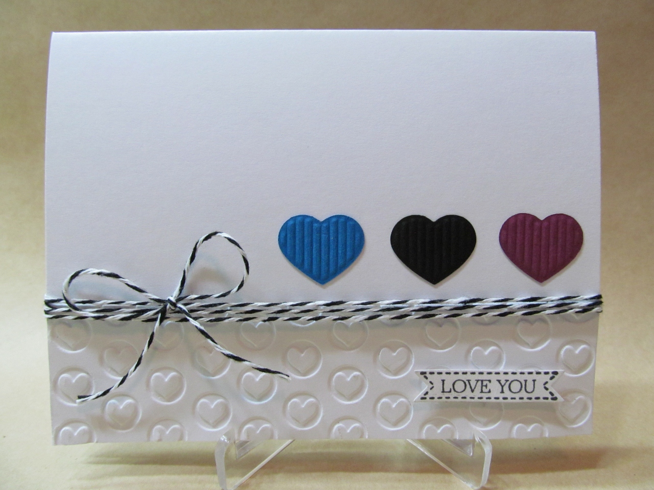 Savvy Handmade Cards Love You Card