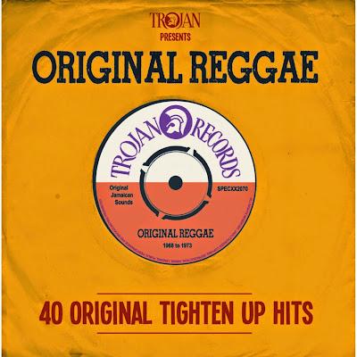 TROJAN PRESENTS ORIGINAL REGGAE - 40 Original Tighten Up Hits