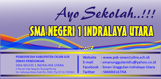 SMAN 1 Indralaya Utara Unggulan Ogan Ilir 2013 SMAN 1 ULTRA iwan hermana