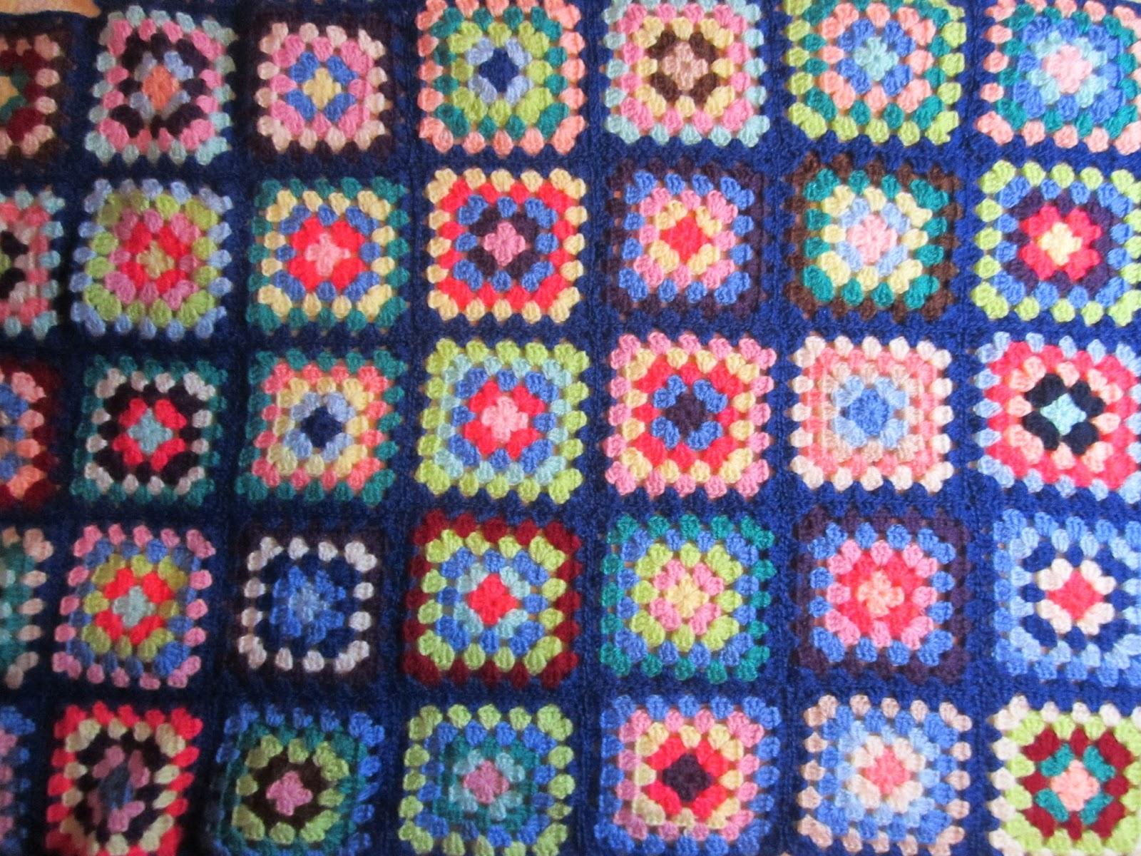 Fairy creations la coperta della nonna ricordi di un tempo - Coperta uncinetto piastrelle ...
