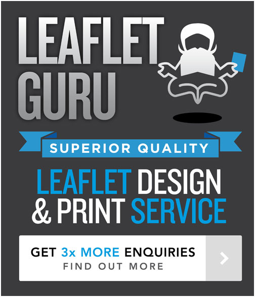 cheap leaflet printing and design service