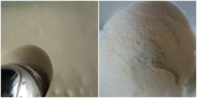 Helado de leche merengada