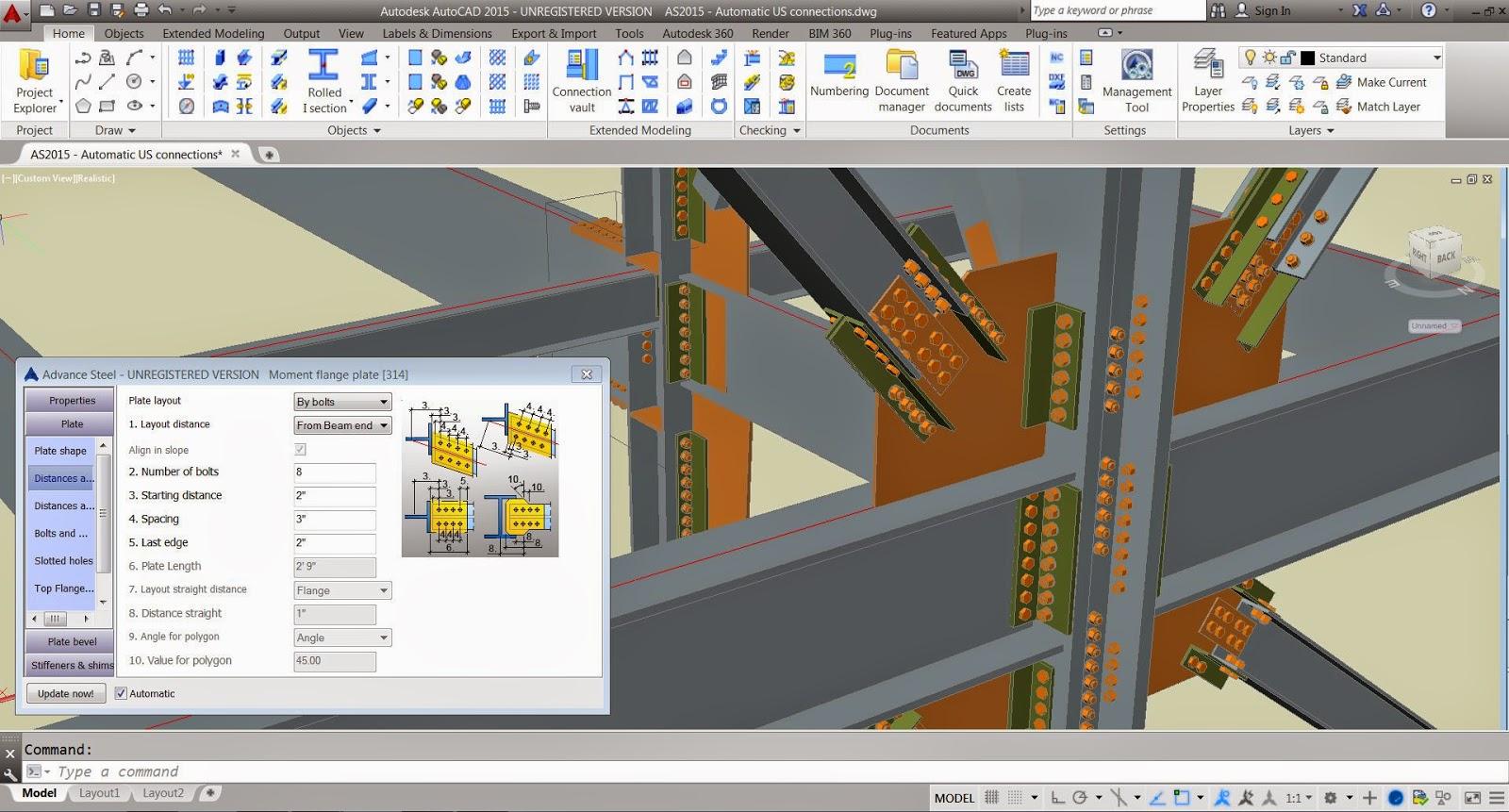 Autodesk autoCAD SP2 32Bit dan 64Bit