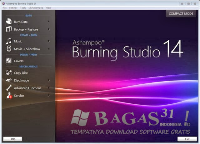 Ashampoo Burning Studio 14 Build 14.0.3.12 Final | Kancut Lols