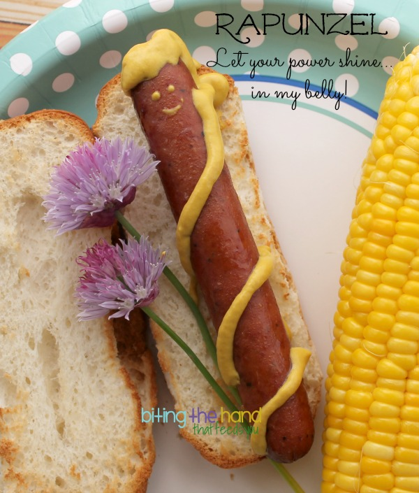 Tangled's Rapunzel Hot Dog!
