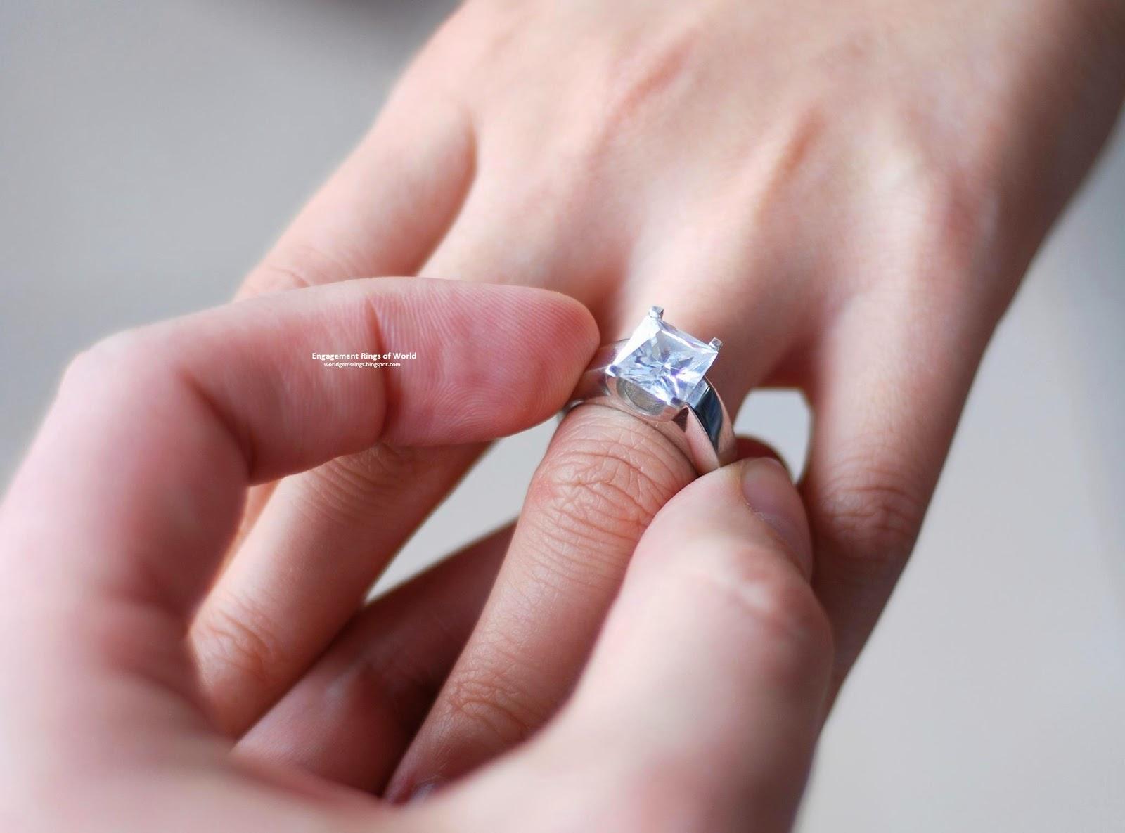 Engagement Ring : Mongolian Men Women Fashion 2014 Diamond Sapphire ...