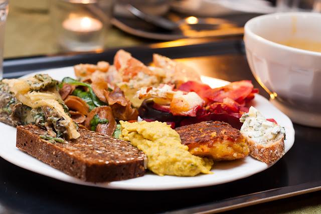 Ručak u vegetarijanskom restoranu