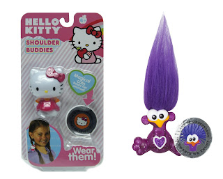 Shoulder Buddies, new trolls toys, Hello Kitty figurines