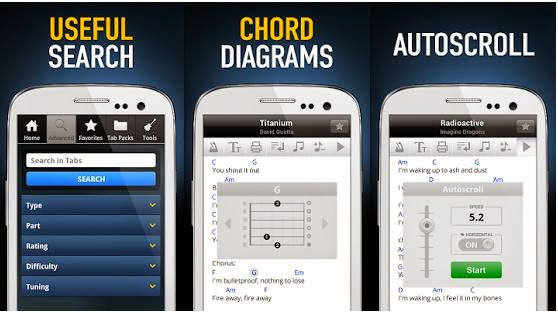 ultimate guitar tabs chords v3 5 1 apk android free android reviews