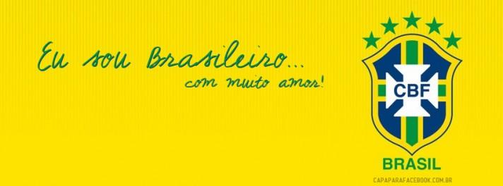 Capas para Facebook Bandeira do Brasil