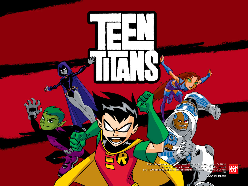 teen titans background