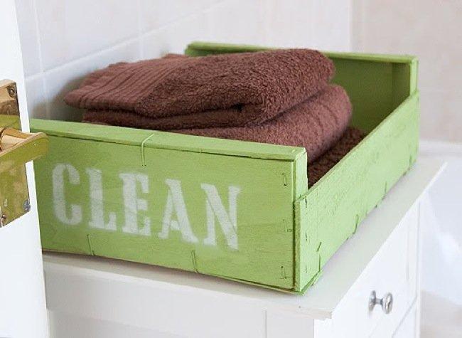 Tu fruteria recicladecoraci n cinco usos para cajas de - Manualidades con cajas de fruta ...