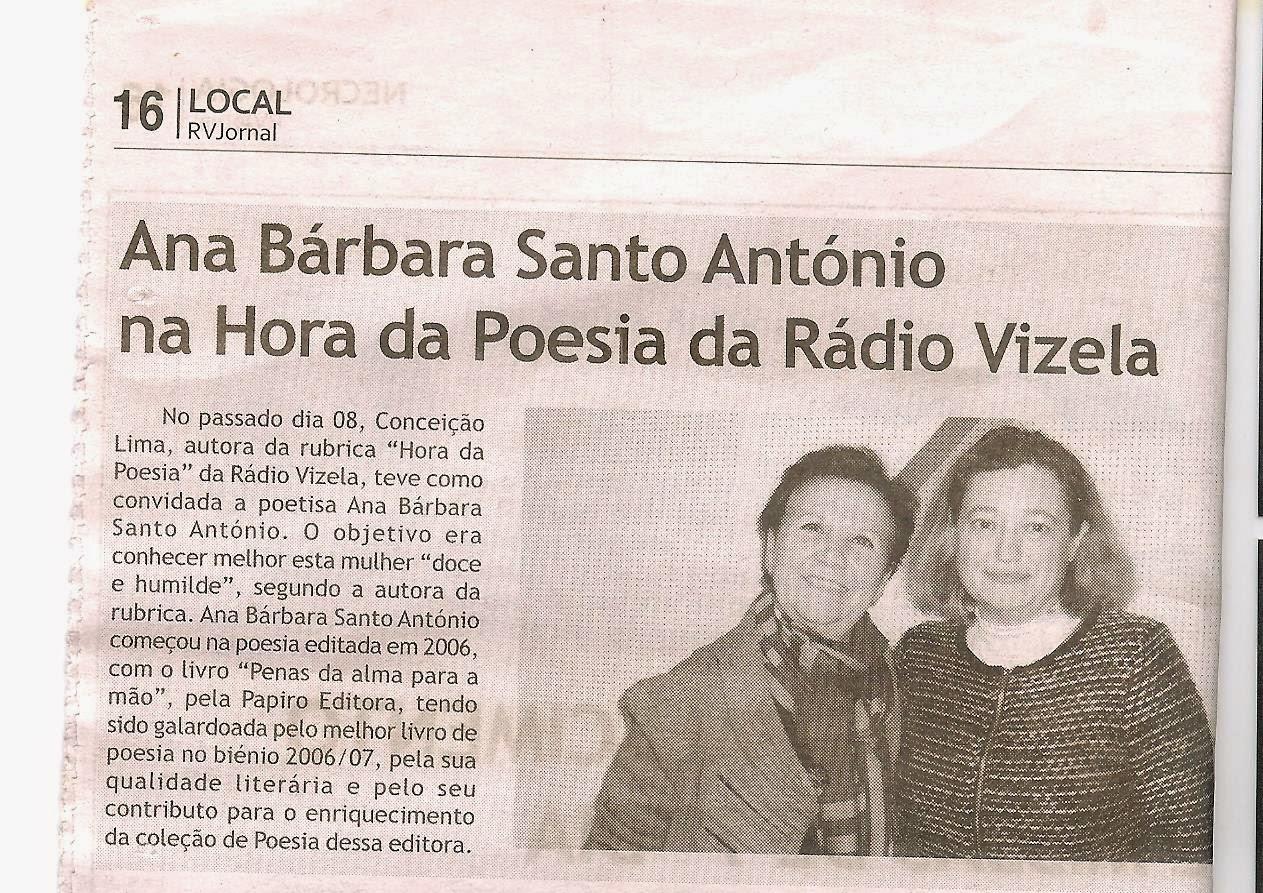 Conceição Lima - Hora da Poesia