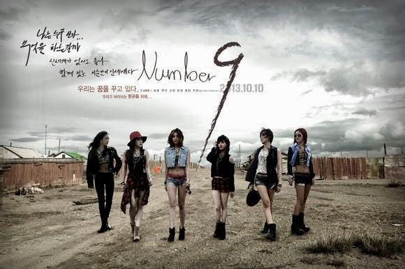 "T-ara releases ""Number 9"" MV"