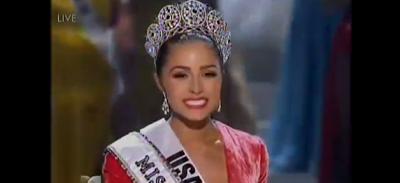 L'Américaine Olivia Culpo élue miss Univers 2012 à Las Vegas