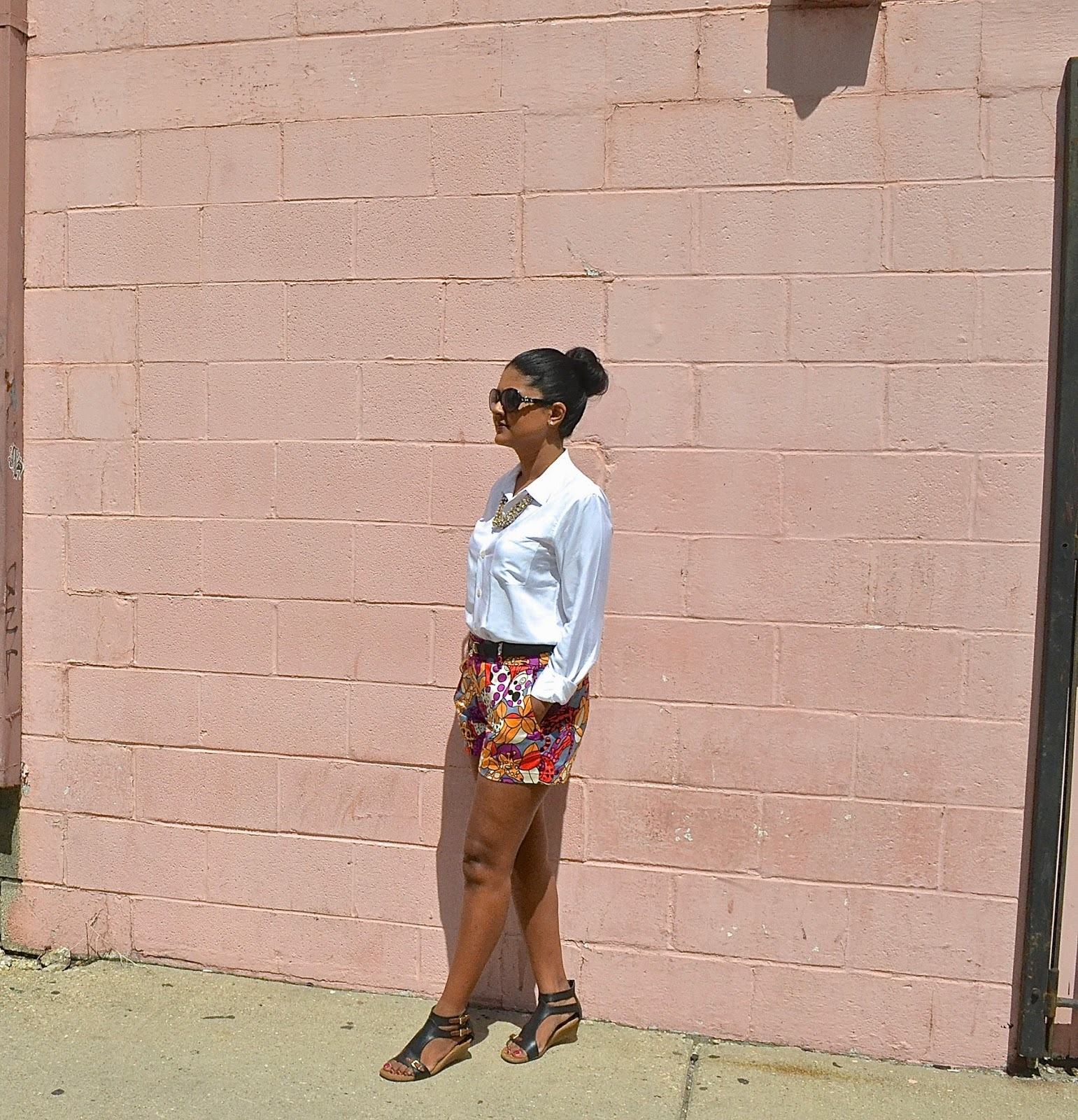 nanette lepore shorts theory blouse aerosole sandals
