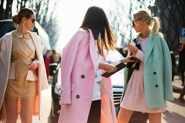 spring pastel fashion