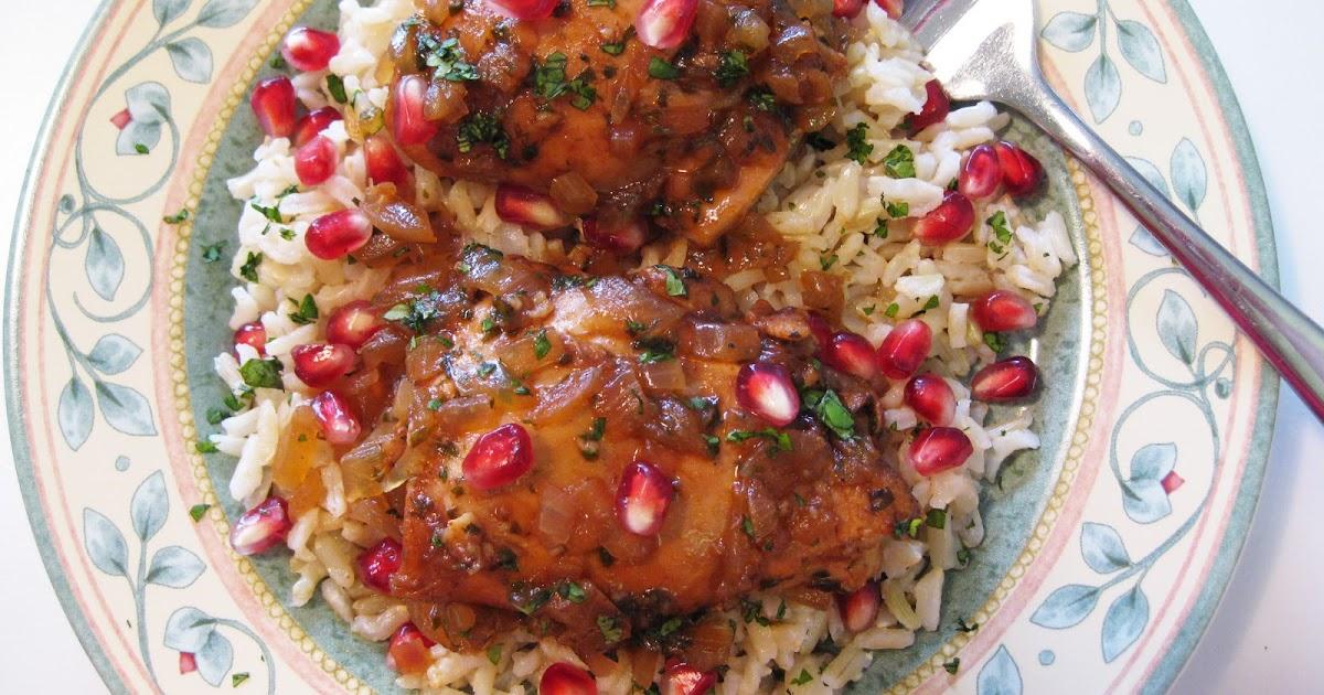 Bloatal Recall: Georgian Chicken in Pomegranate and Tamarind Sauce