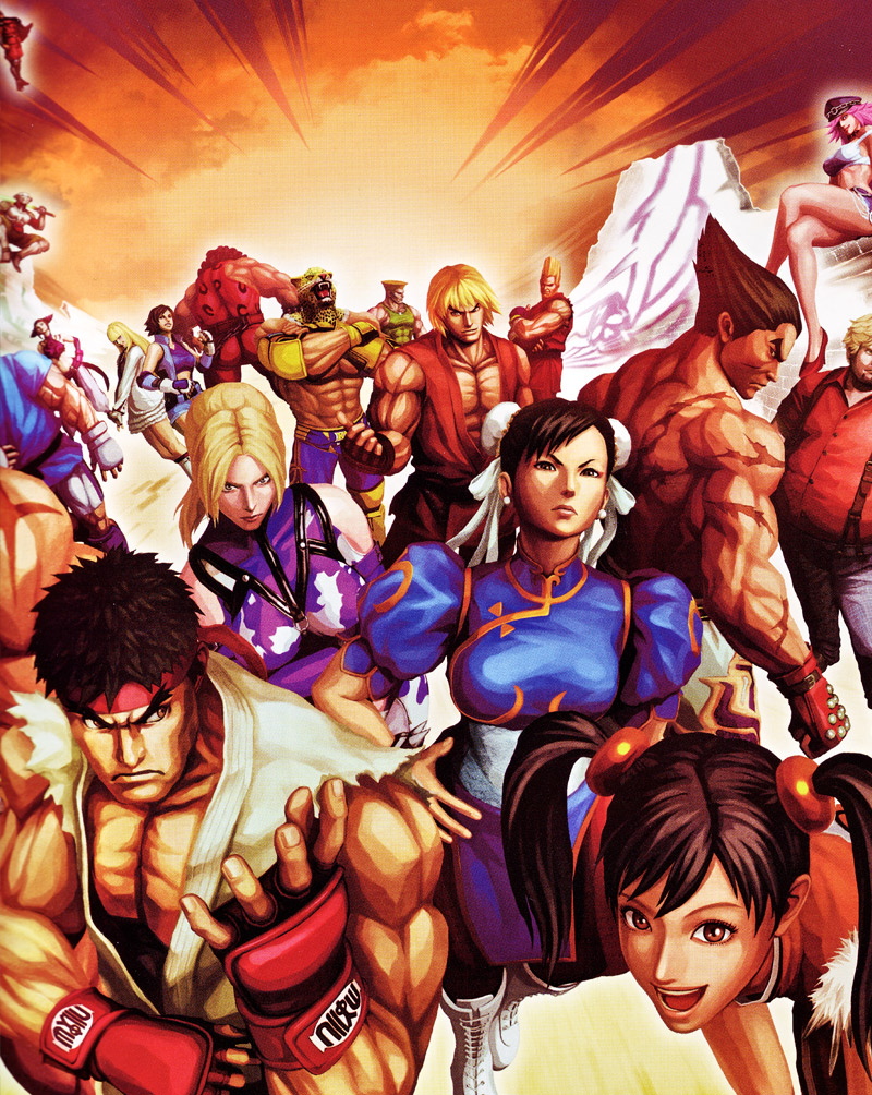 Kazuma Teshigawara Street Fighter Tekken
