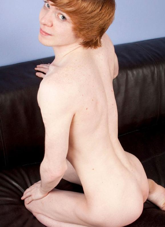 Blonde gay twink skinny cute mobile cameron 10