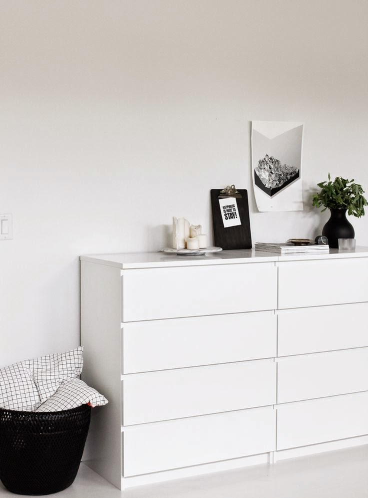 Ikea malm drawers stylish affordable for Malm kommode weiay