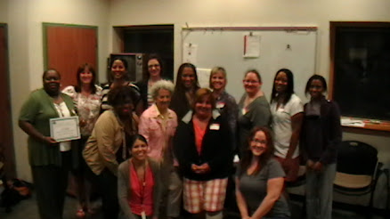 Graduation- 2012 Confidential Sexual Violence Advocate Training