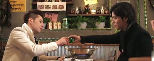 Do Go Ma Te and David Choi drink soju together.